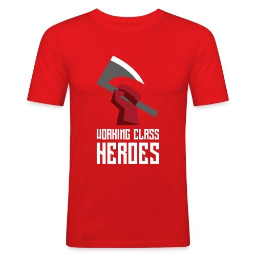 WORKING CLASS HEROES - Men's Slim Fit T-Shirt