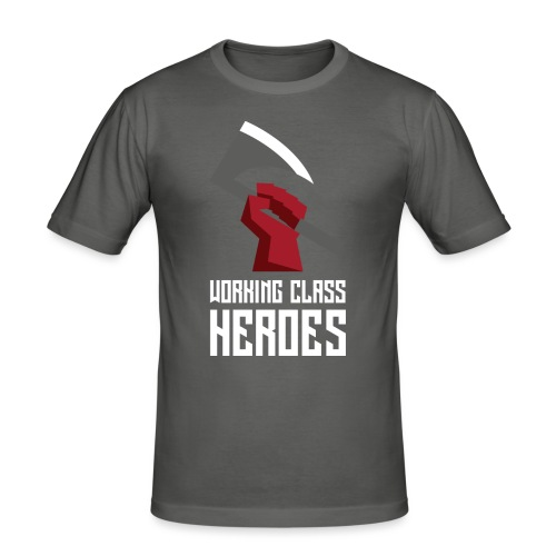 WORKING CLASS HEROES - Men's Slim Fit T-Shirt