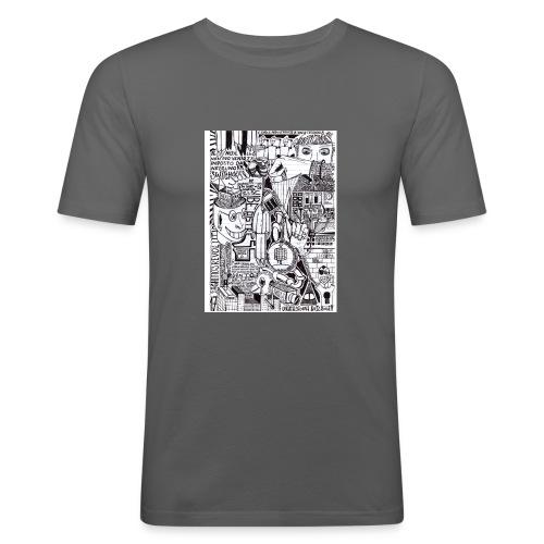 Trip T-Shirt - Maglietta aderente da uomo