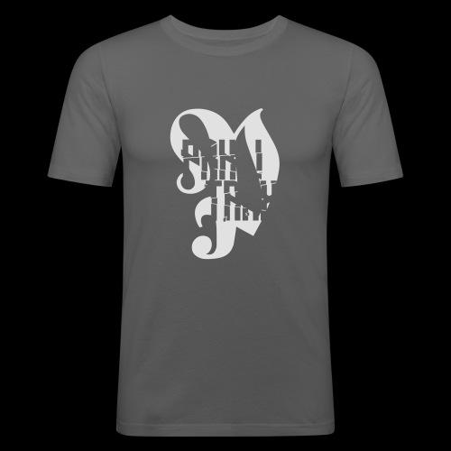 PRKL! Trax P-shirt - Miesten tyköistuva t-paita