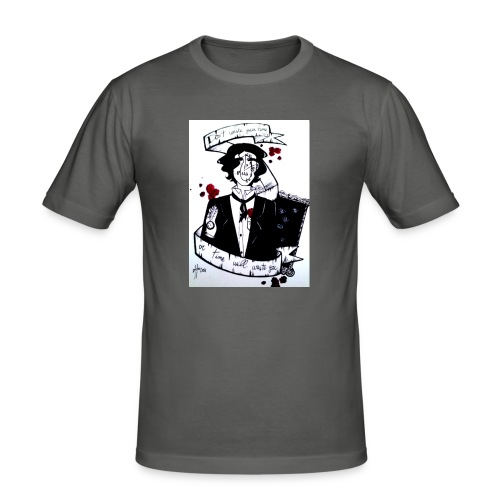 22-jpg - Maglietta aderente da uomo