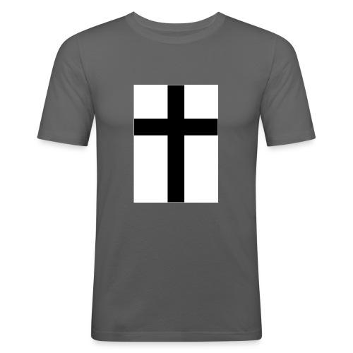 Cross - Slim Fit T-shirt herr