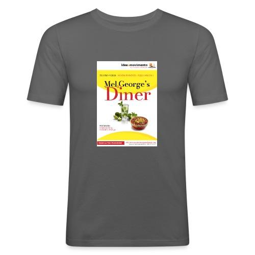 Mel-George-s_diner - Maglietta aderente da uomo