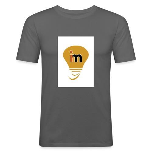 Ideeinmovimento - Maglietta aderente da uomo