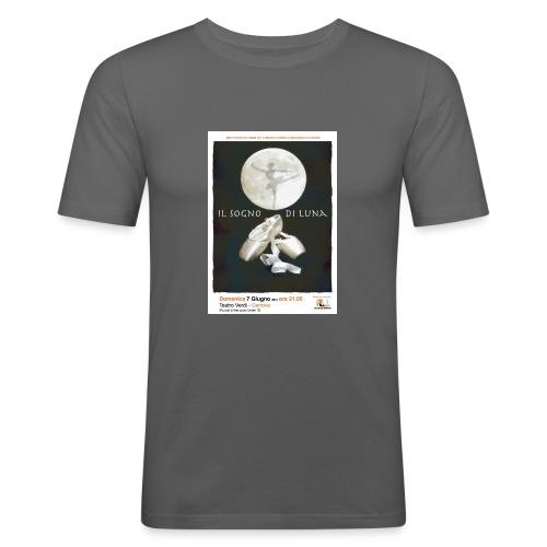 Il Sogno di Luna - Maglietta aderente da uomo