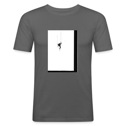 Solitude - T-shirt près du corps Homme