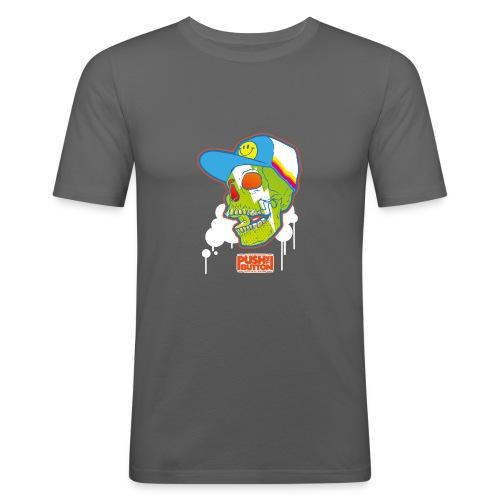 Ptb Skullhead 2 - Men's Slim Fit T-Shirt