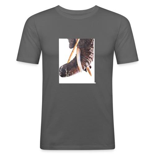 Olifantenslurf - Mannen slim fit T-shirt