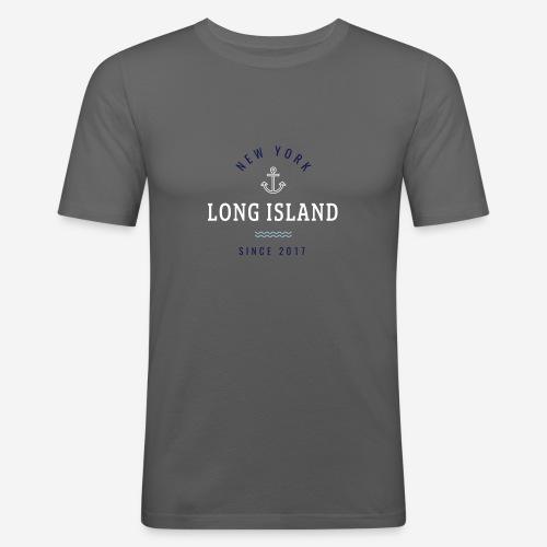 NEW YORK - LONG ISLAND - Maglietta aderente da uomo