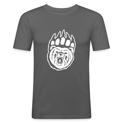 Dam T-shirt Svart/Rosa - Slim Fit T-shirt herr