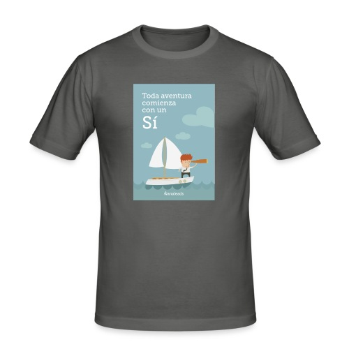 Camiseta Toda Aventura de Wanaleads - Camiseta ajustada hombre