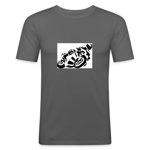 Moto - Männer Slim Fit T-Shirt