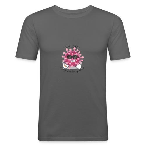 Corona Tshirt - Männer Slim Fit T-Shirt