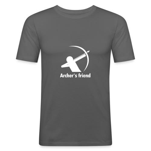 Archer´s friend - Männer Slim Fit T-Shirt