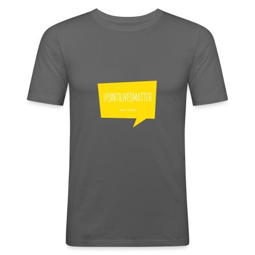 Sinti Lives Matter - Männer Slim Fit T-Shirt