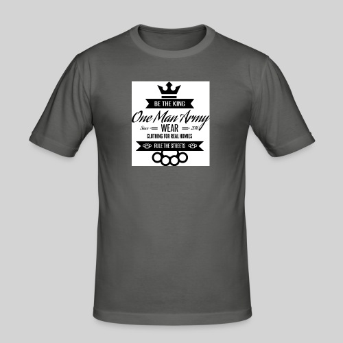 Tanktop LOGO KLASYK biały - Obcisła koszulka męska