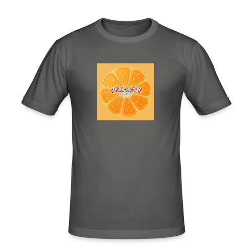 orangetextur - Männer Slim Fit T-Shirt