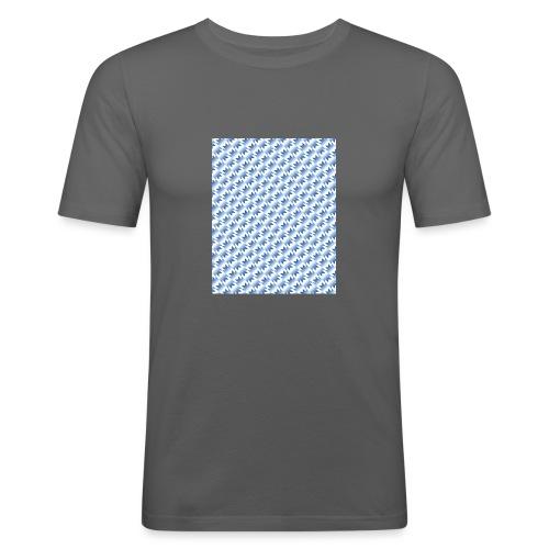 UNITED AWAY 1990 - 1992 - Men's Slim Fit T-Shirt