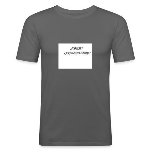 CREW MERCH - Männer Slim Fit T-Shirt