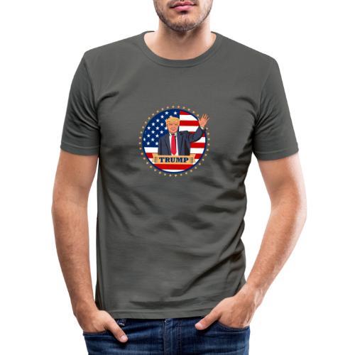 Trump - Männer Slim Fit T-Shirt