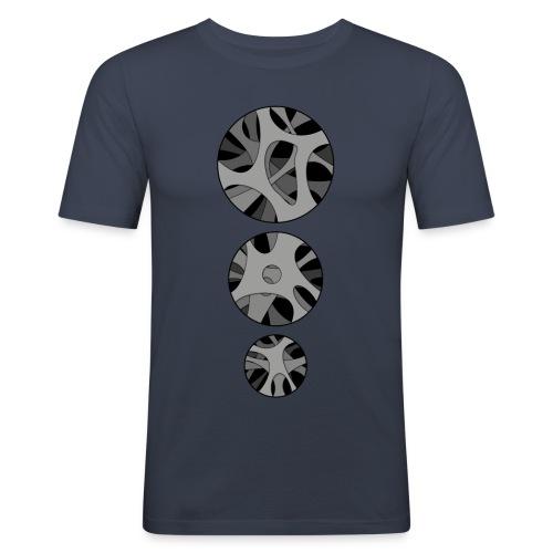 RoundHollow - Herre Slim Fit T-Shirt