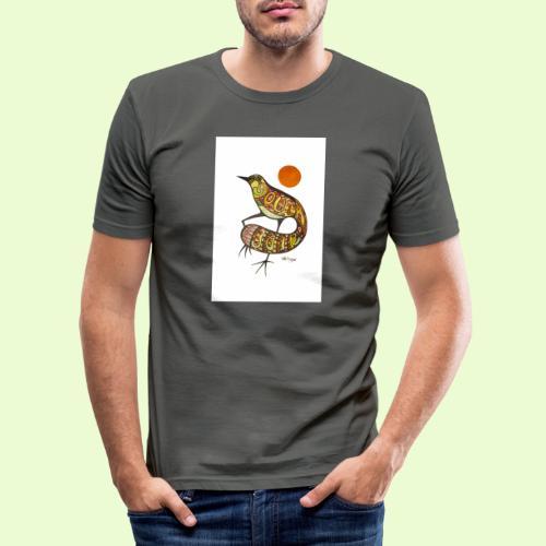 BG - Miesten tyköistuva t-paita