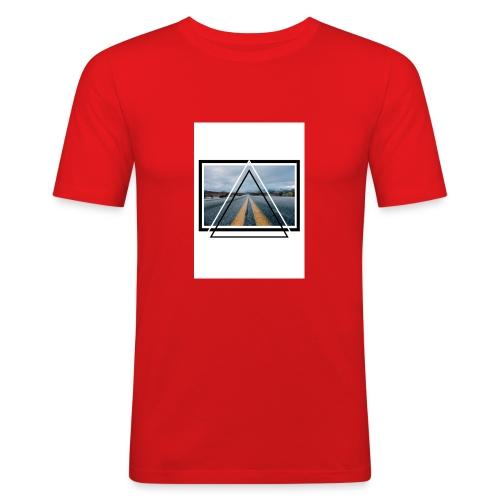 On the Road - T-shirt près du corps Homme