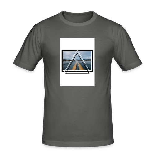On the Road - T-shirt près du corps Homme