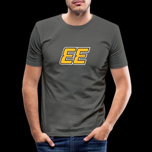EE - Double E - 33 - Slim Fit T-shirt herr