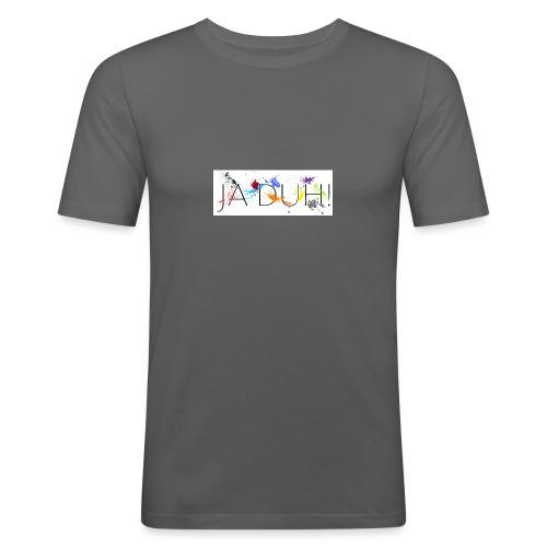 Ja Duh! Merchandise Mula B Meesterplusser - Mannen slim fit T-shirt