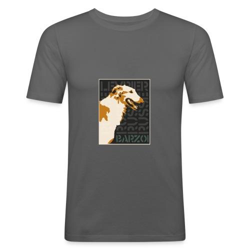 Barzoï 8 - T-shirt près du corps Homme