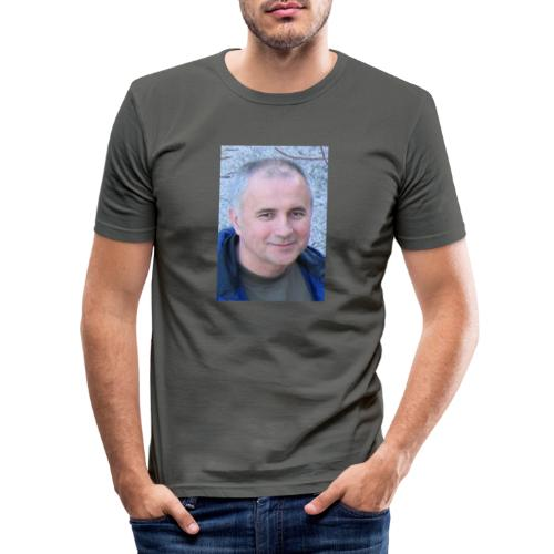 tibor csikos - Slim Fit T-shirt herr