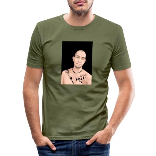 Justin Ahlberg Art - Slim Fit T-shirt herr