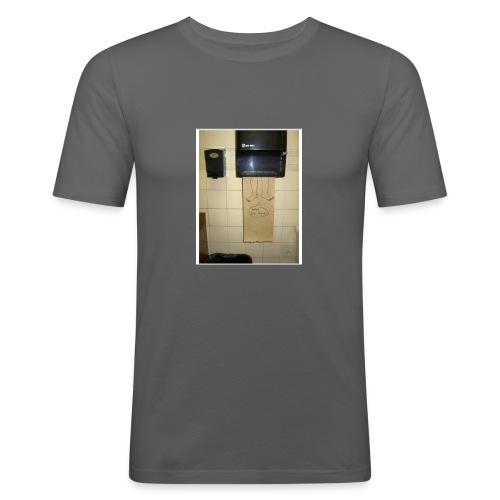 Stuck in the paperholder - Slim Fit T-shirt herr