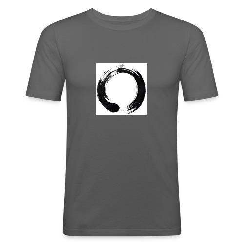 zen - Maglietta aderente da uomo