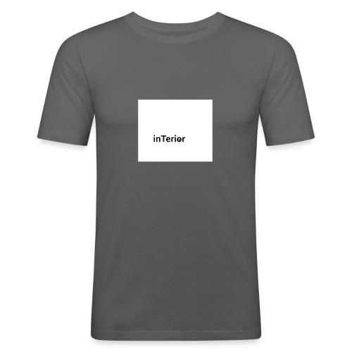 inTerior - Obcisła koszulka męska
