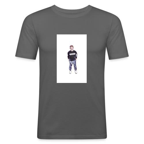 Silik Comic - Männer Slim Fit T-Shirt