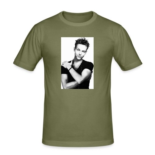 handsome guy - Men's Slim Fit T-Shirt