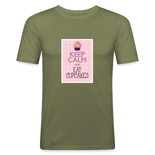 cupcake - Maglietta aderente da uomo
