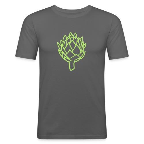Artichoke - Mannen slim fit T-shirt