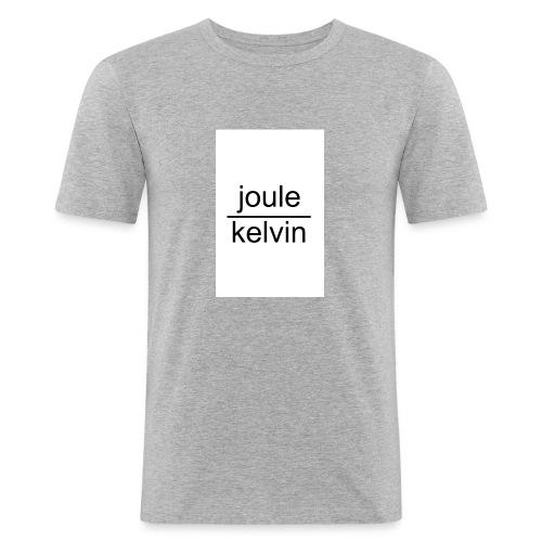 J/K unità di misura dell'ENTROPIA - Maglietta aderente da uomo