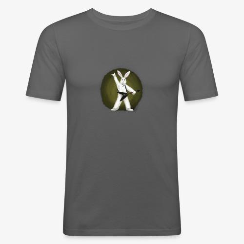 Metal Bunny - Slim Fit T-skjorte for menn