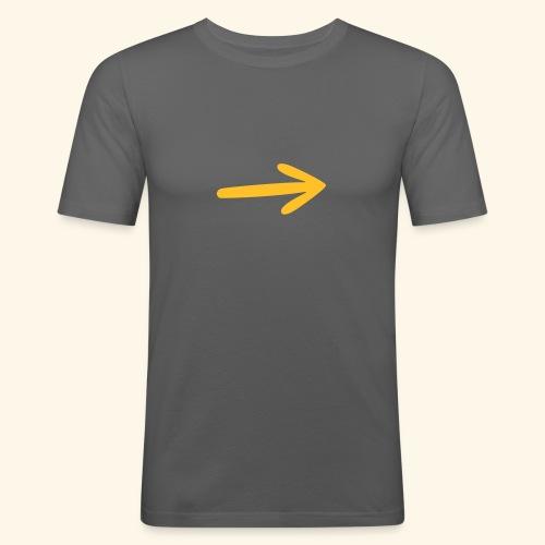 Marca Camino, Flecha - Camiseta ajustada hombre