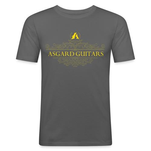 AGpaitakoukero yellow gold - Miesten tyköistuva t-paita
