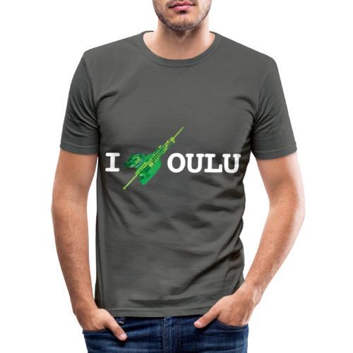 Uilleann Piper Oulu - Classic 2020 - Miesten tyköistuva t-paita