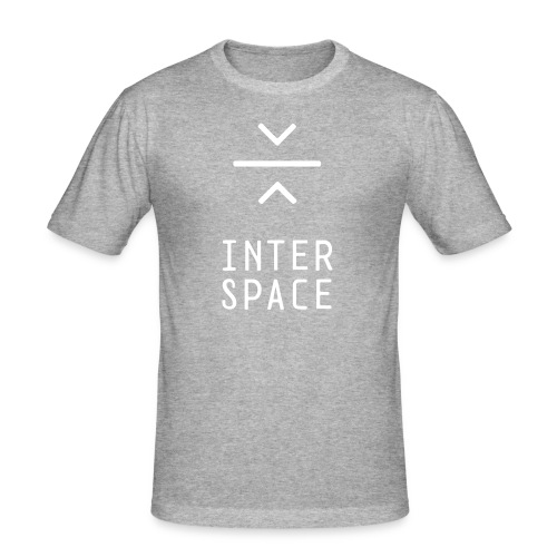 interspace logo 4a - Slim Fit T-shirt herr