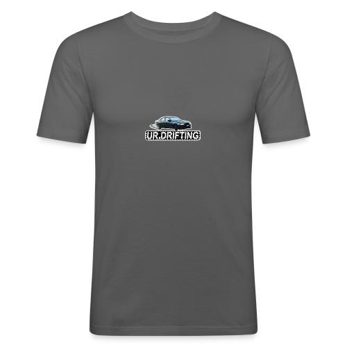 UR DRIFTING LOGO - Slim Fit T-skjorte for menn