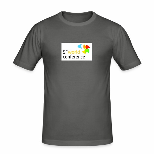SFworldconference T-Shirts - Männer Slim Fit T-Shirt