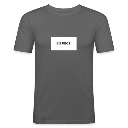 Elz vlogz merch - Men's Slim Fit T-Shirt