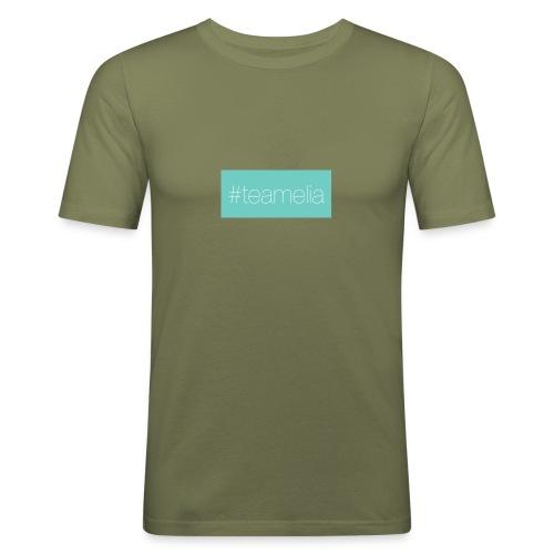 #teamelia - Männer Slim Fit T-Shirt